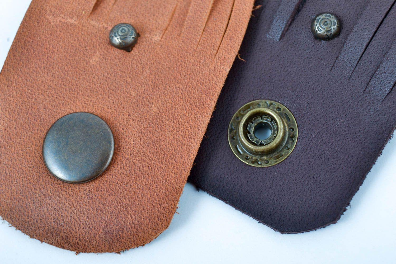 handmade jewelry set leather wrap bracelets handmade leather goods cool gifts photo 3