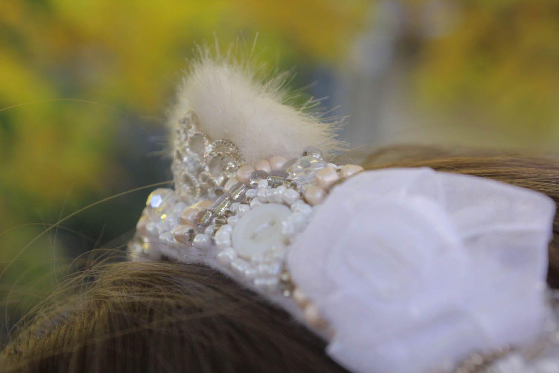 Beautiful handmade headband photo 5