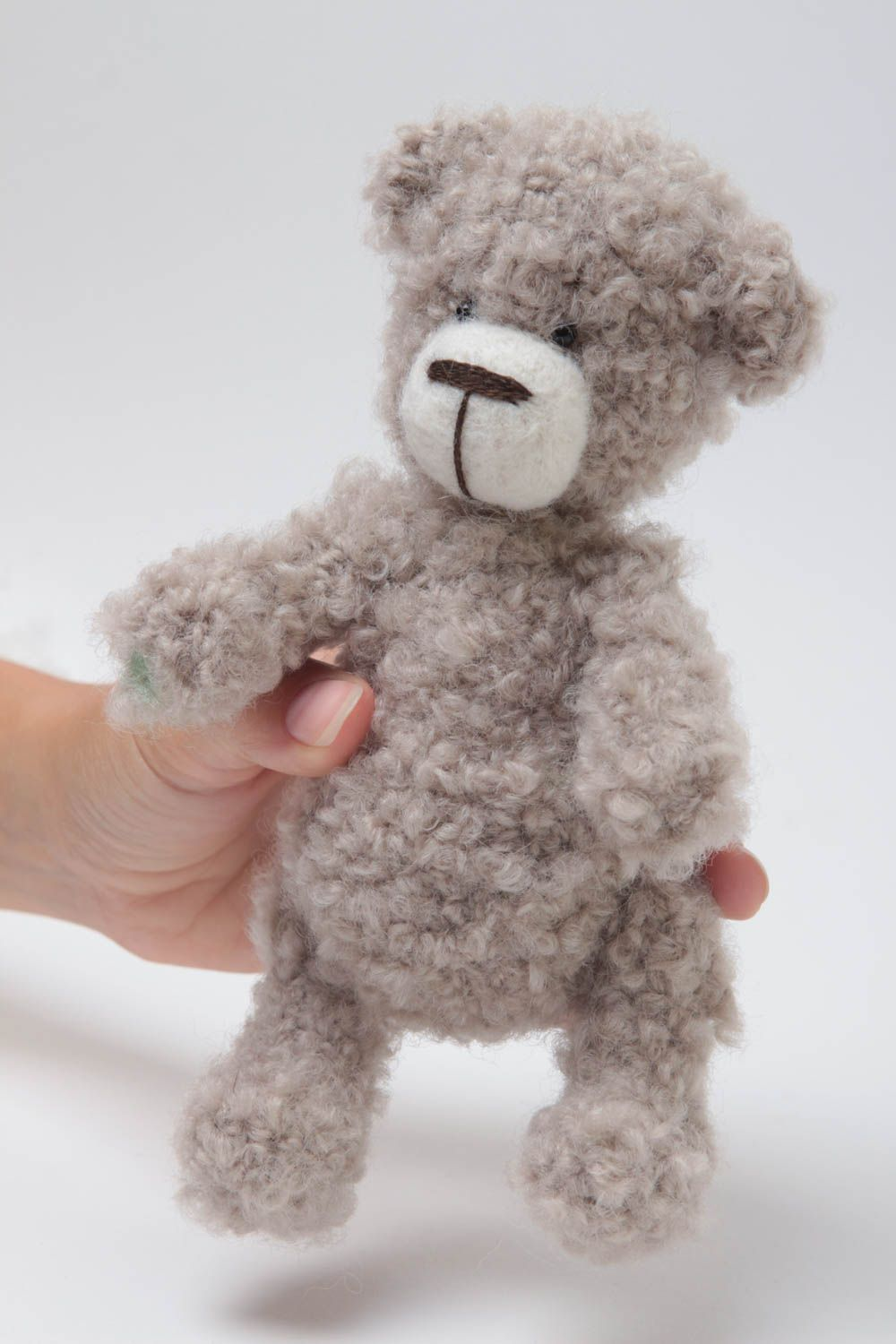 teddy bears Handmade toy bear toy crochet toy designer toy interior toy gift ideas - MADEheart.com