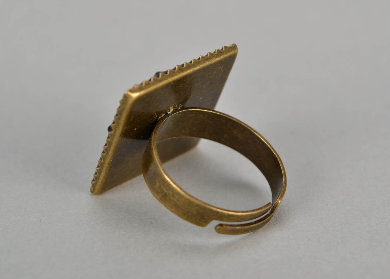 Кольцо из эпоксидной смолы фото 4