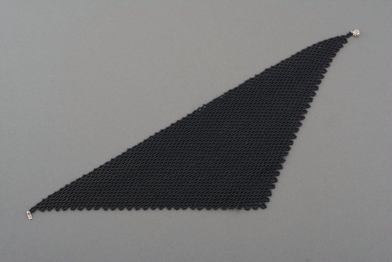 Beaded necklace Kerchief photo 4