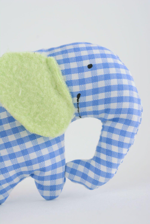 Homemade soft toy Elephant photo 2
