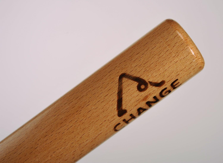 Wooden yoga cane photo 4