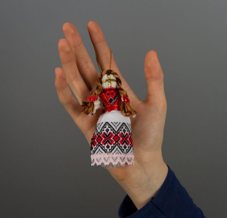 Motanka doll keychain photo 1