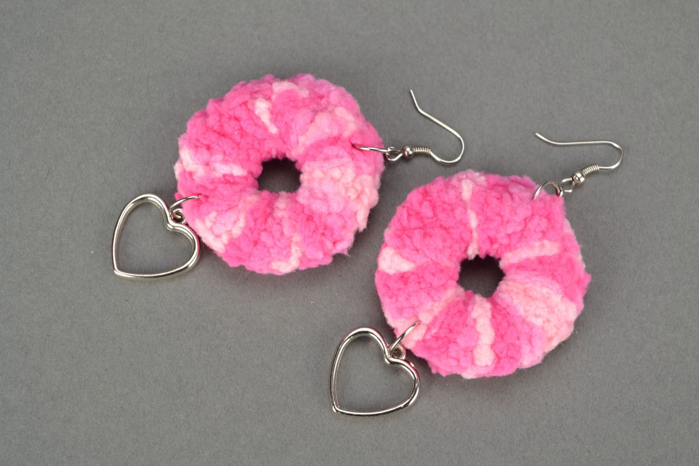 Crochet jewelry set photo 3
