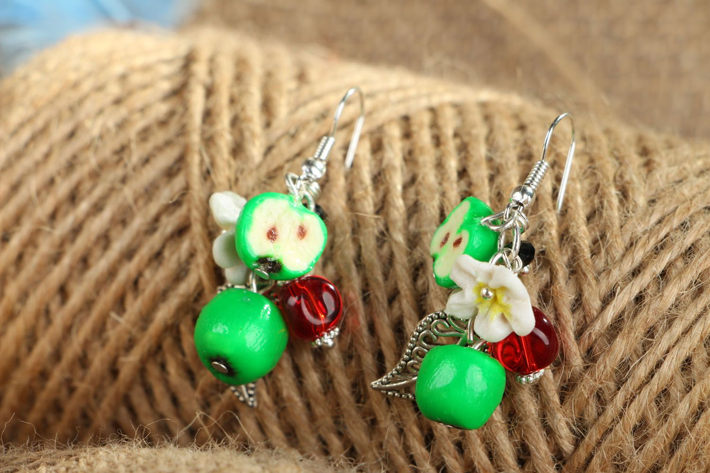 Handmade earrings photo 4