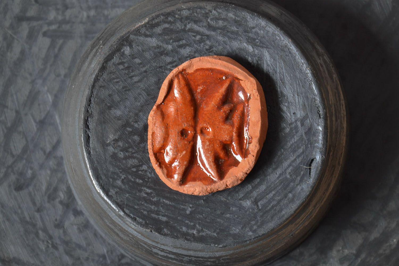 Clay fridge magnet photo 1