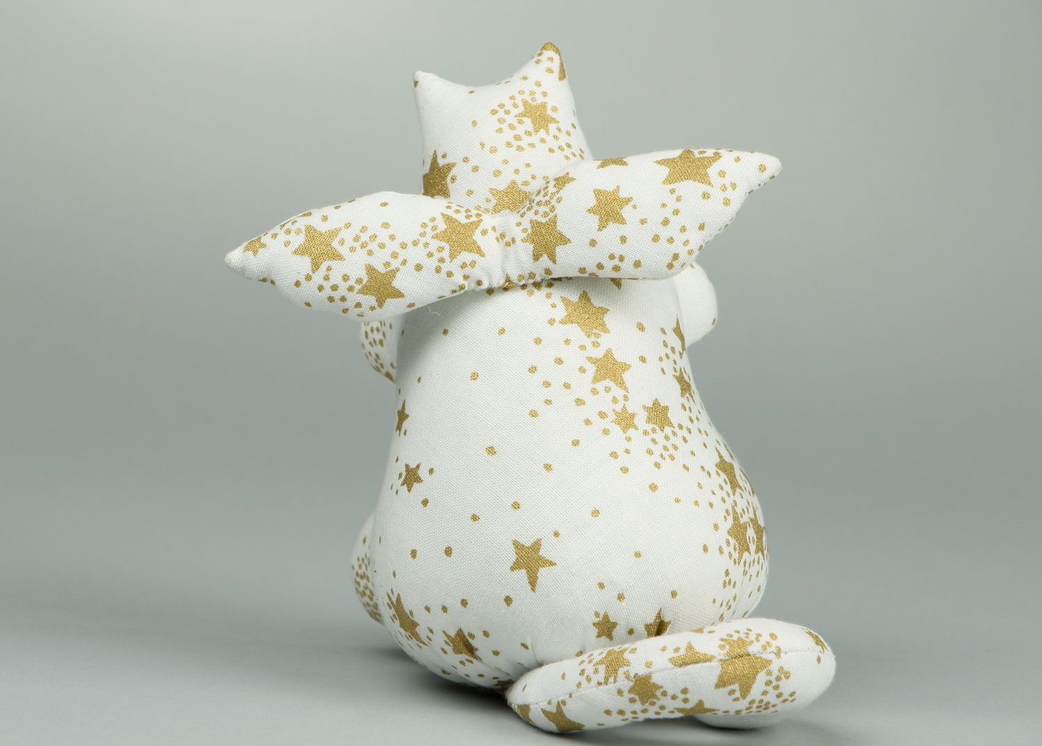 Soft souvenir toy Cat-angel  photo 4