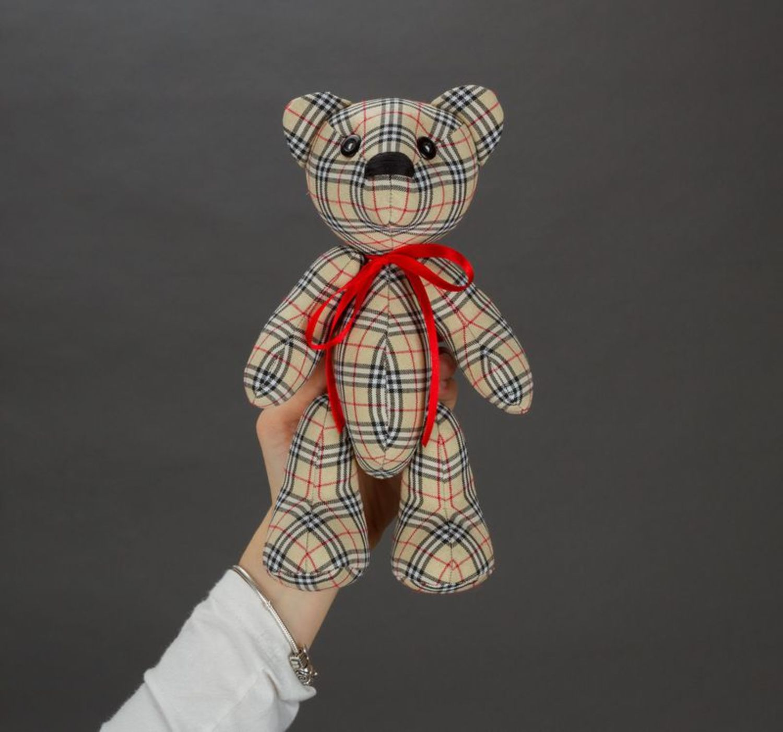 Soft toy bear photo 3