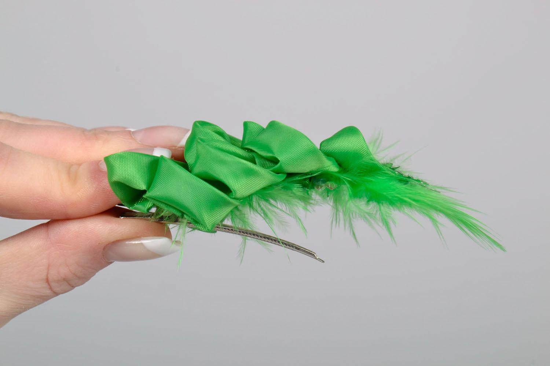 Festive hair clip photo 5