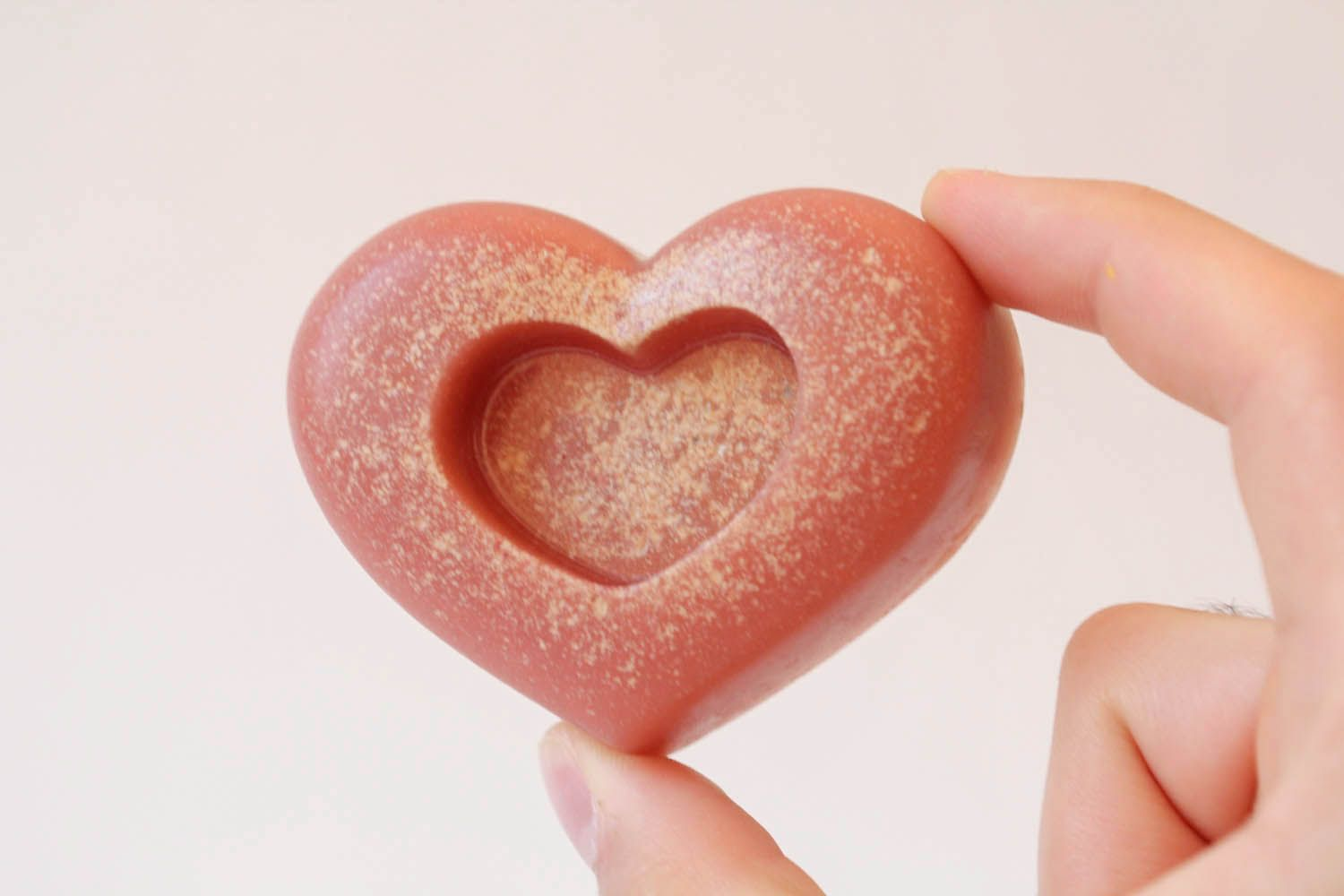 Soap with pink clay photo 4
