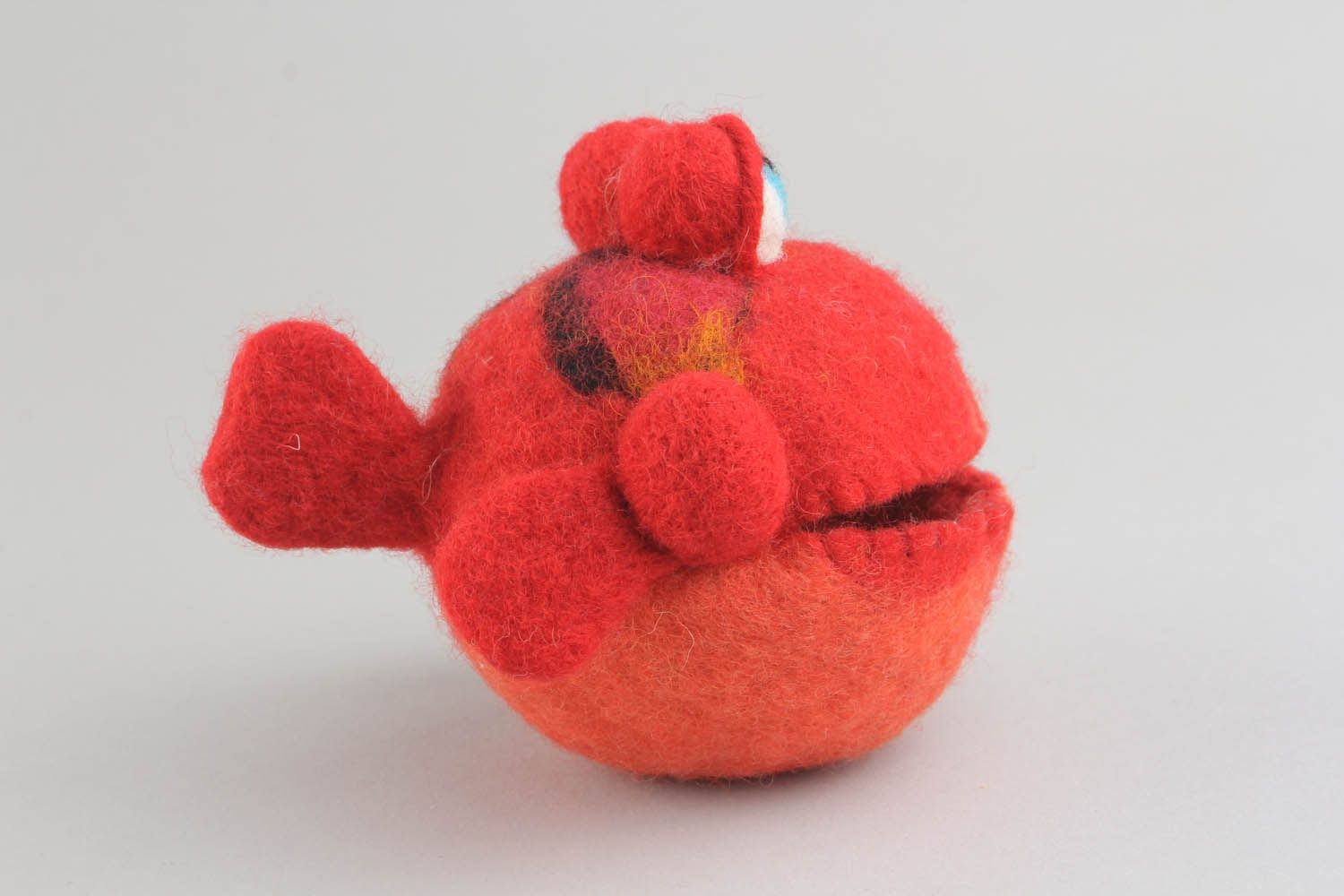 felted toys Soft toy in the shape of fish - MADEheart.com