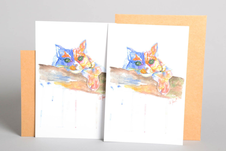 Handmade greeting cards unusual greeting card for handmade gift ideas photo 2