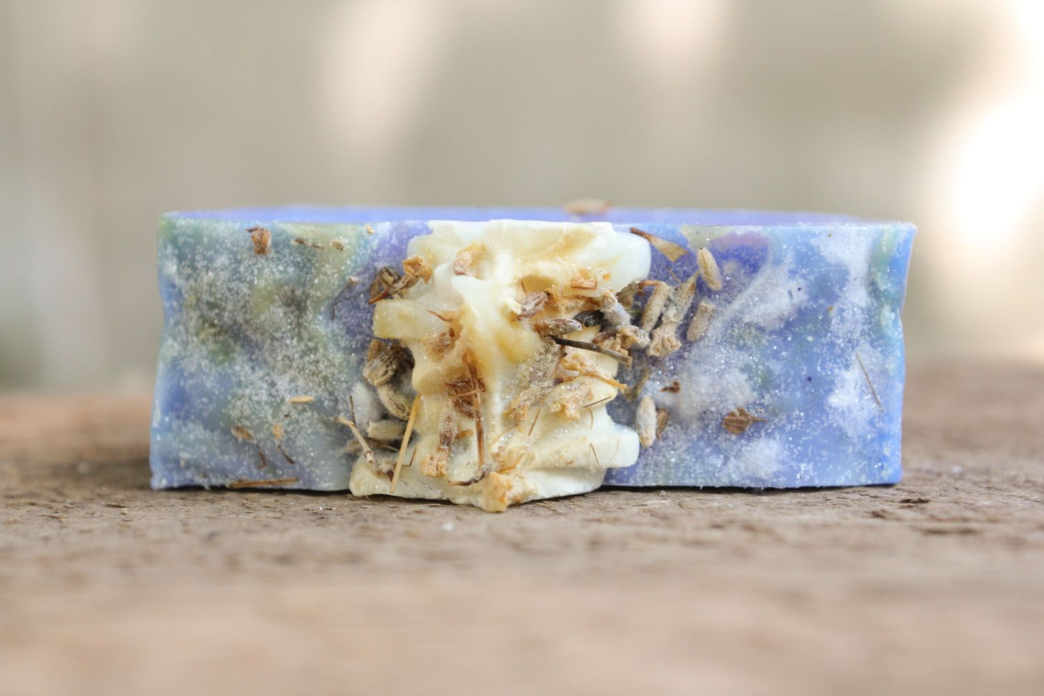 Homemade soap with lavender oil photo 3