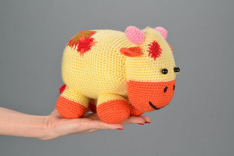 Игрушки вязанные крючком, схемы слоника / Вязание игрушек на