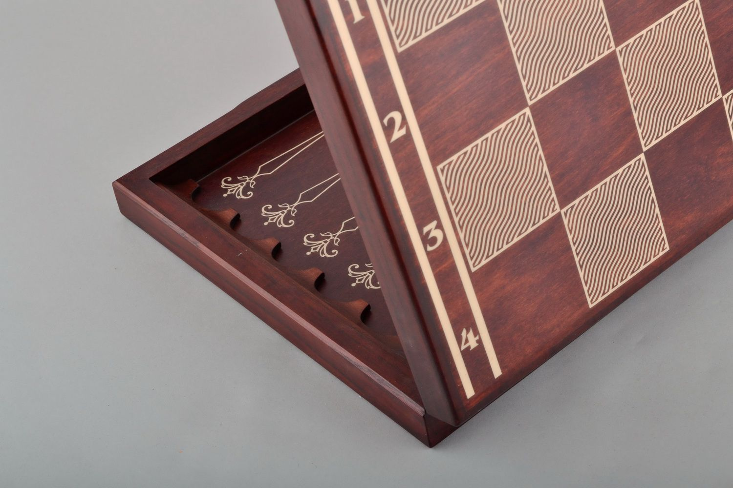 table games Wooden chess set