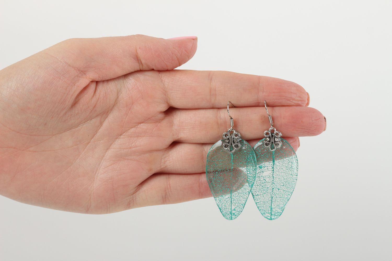 Handmade bracelet unusual bracelet for women gift ideas epoxy resin jewelry photo 5