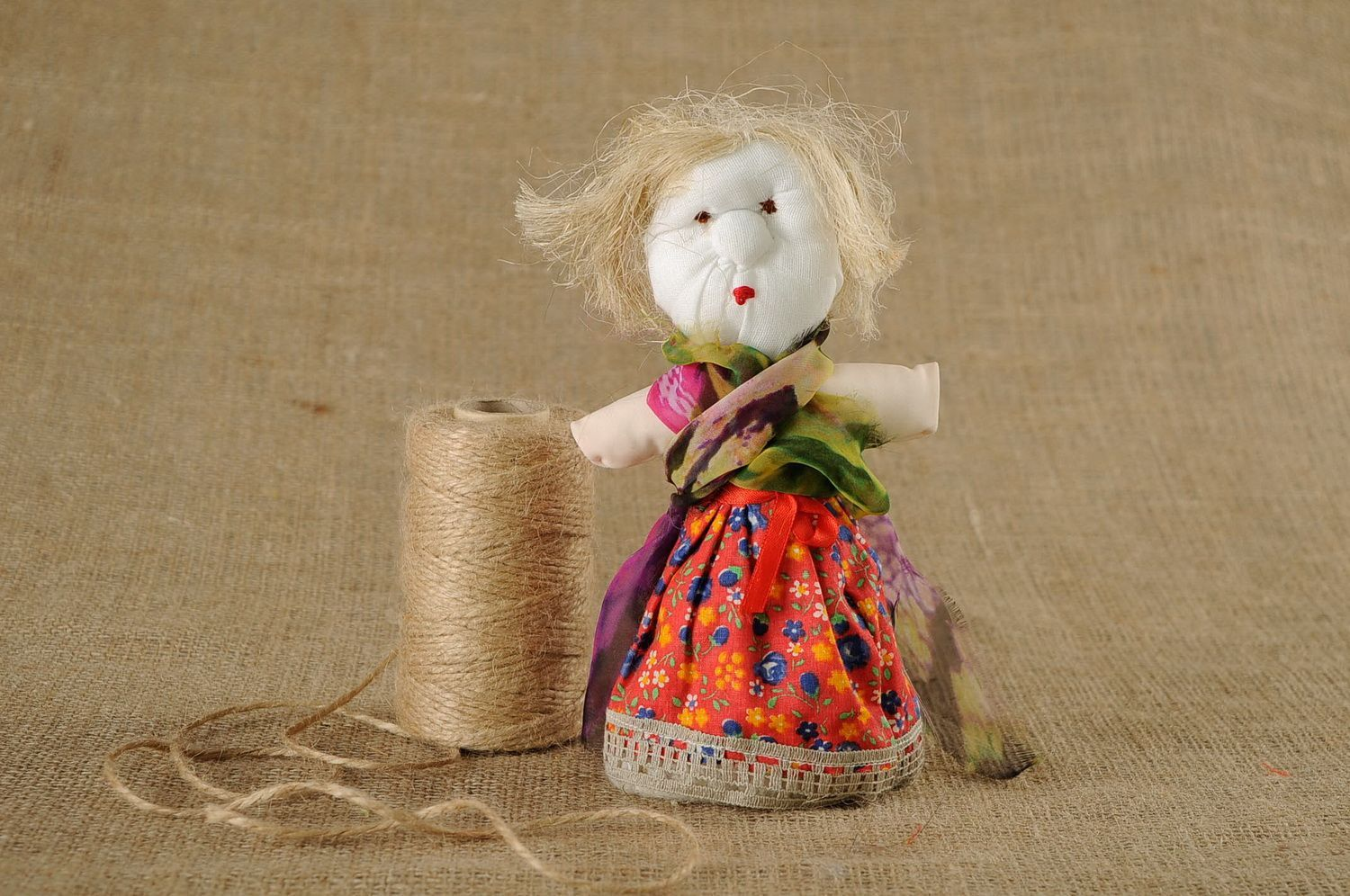 Motanka doll Grandma sorcerer photo 1