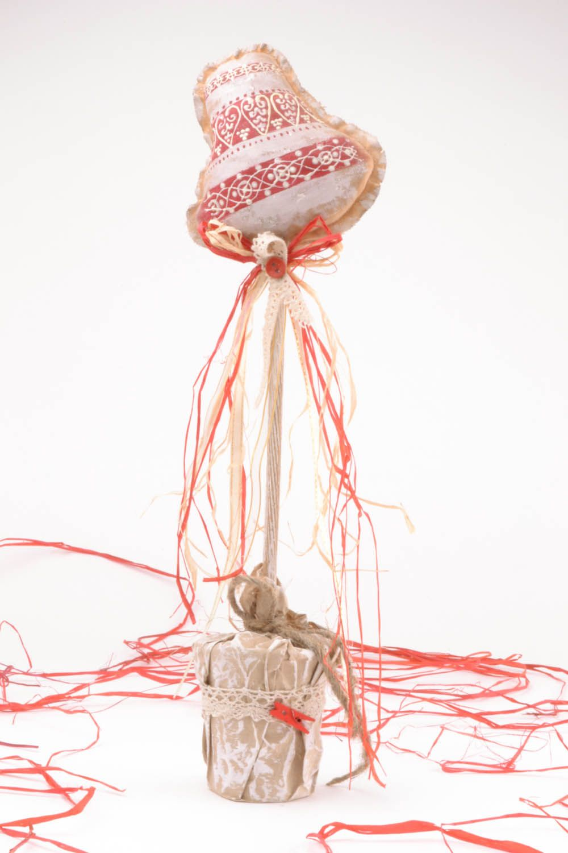 Handmade textile topiary photo 1
