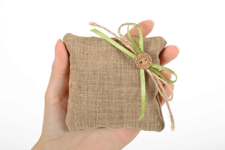 Flax sachet with herbs photo 2