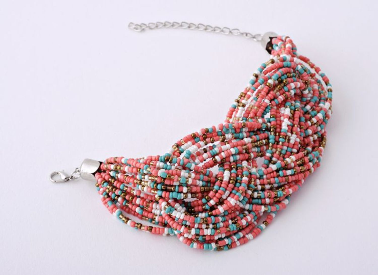 Multi-layer beaded bracelet photo 4