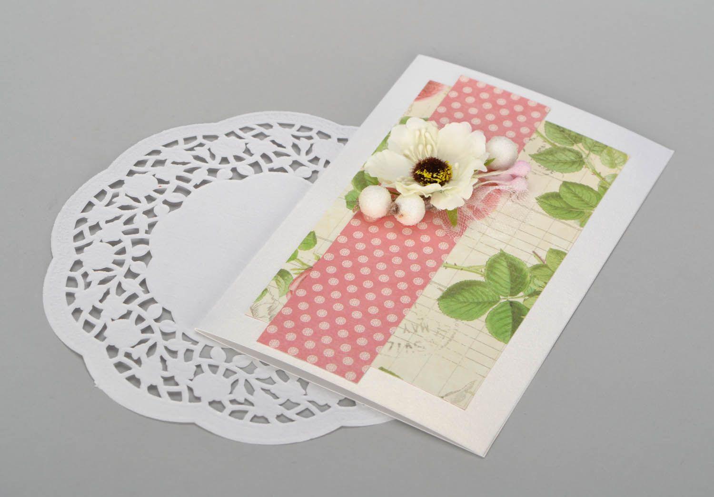 Handmade designer postcard photo 5