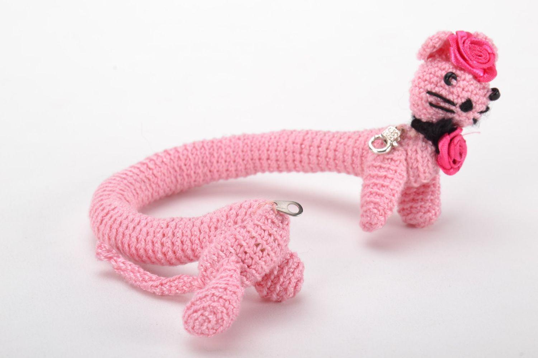 Pink wrist bracelet photo 4