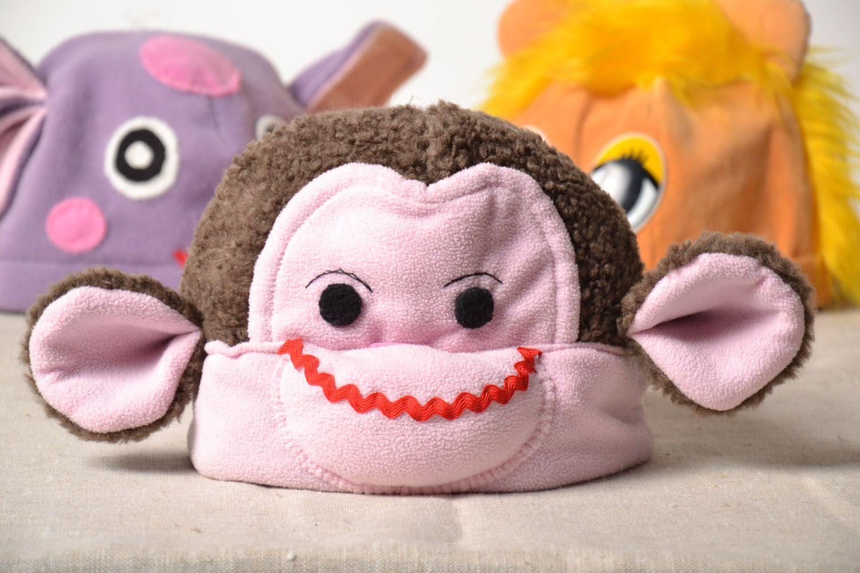 Unusual children's hat Monkey photo 1