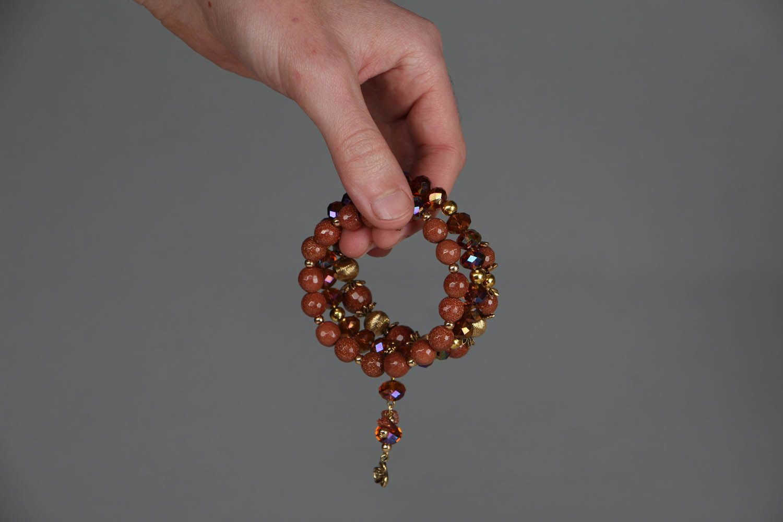 Aventurine stone bracelet photo 5