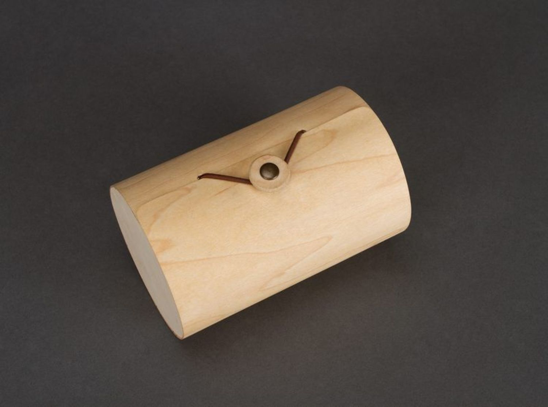 Box made of birch bark wood photo 4