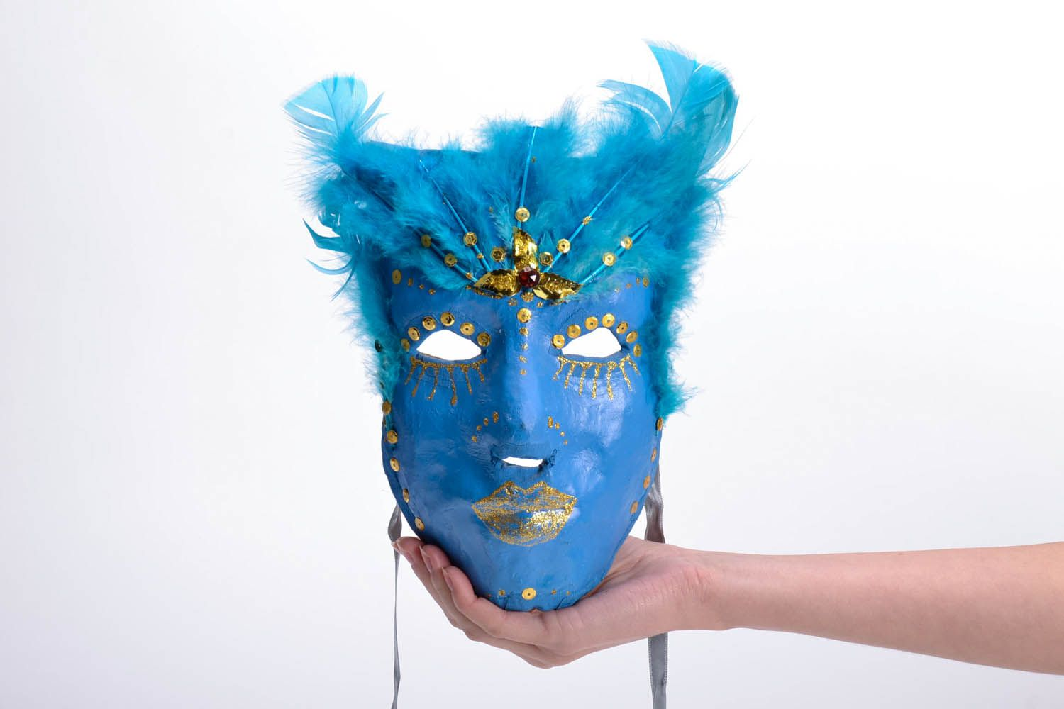 masks Decorative plaster mask - MADEheart.com