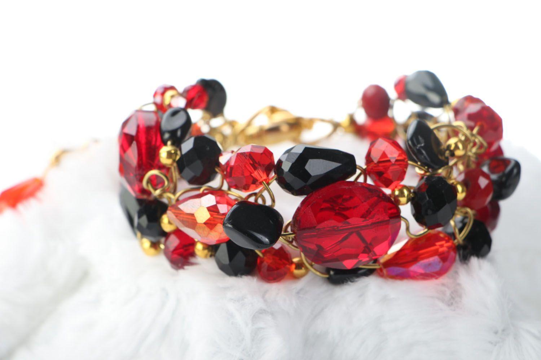 Wrist bracelet with agate photo 2