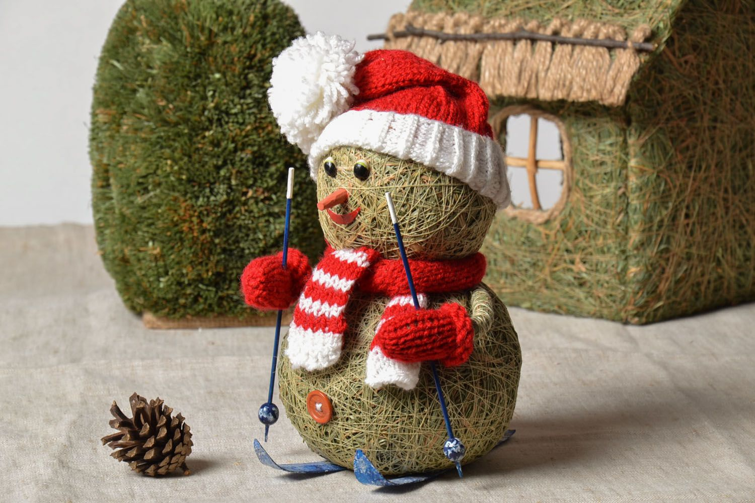 Christmas decoration Snowman photo 1