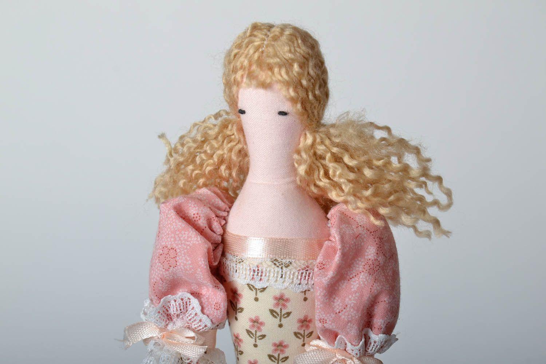 Decorative fabric doll photo 3