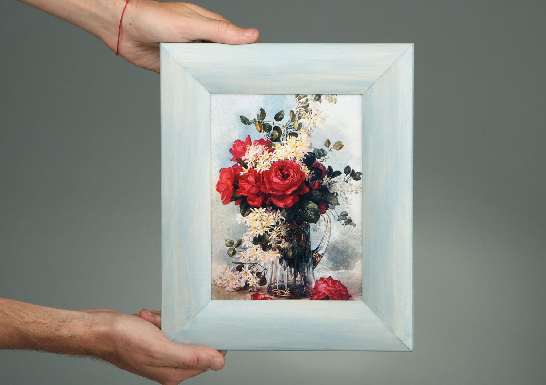 Картины декупаж из фото своими руками