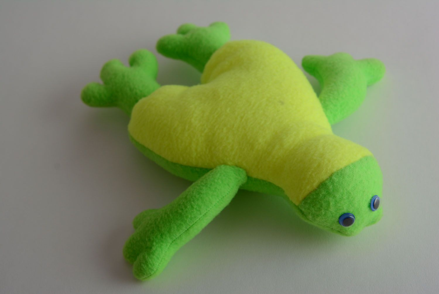 Soft toy Toad photo 1