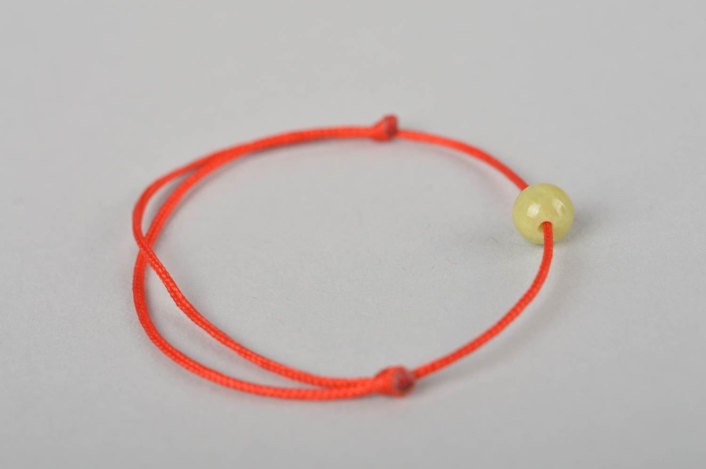 Украшение ручной работы модный браслет с оливковой бусиной красивый браслет фото 3