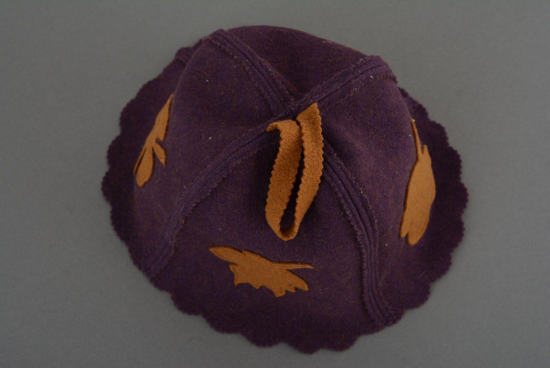 Hat for sauna photo 3