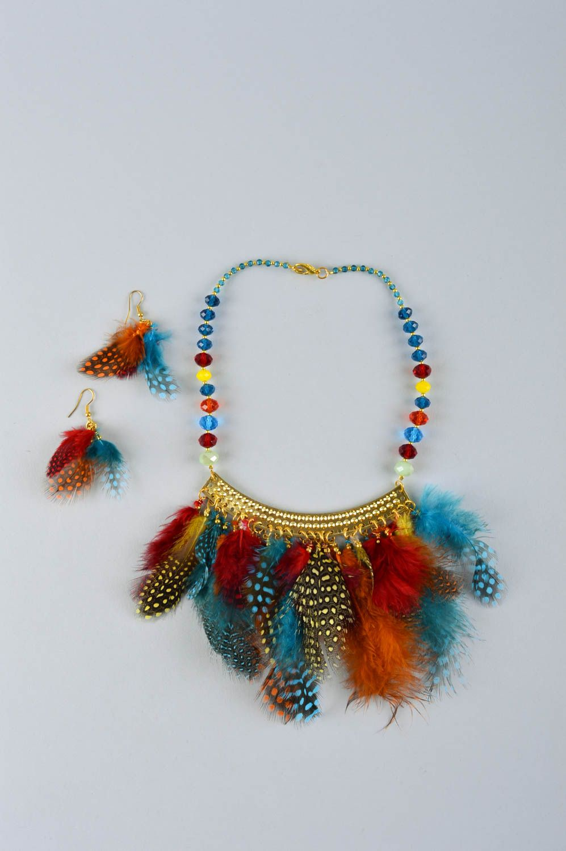 Handmade stylish jewelry elite designer accessories feminine cute present photo 2