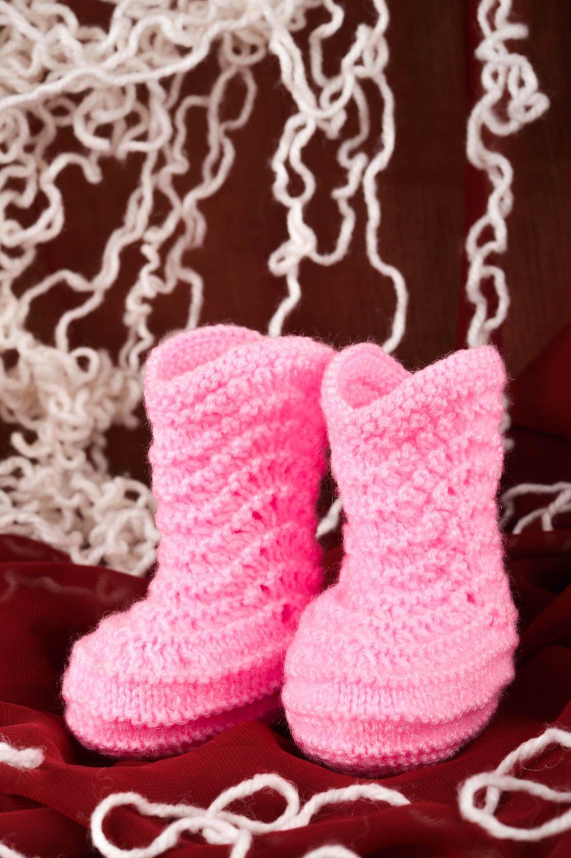 Детские сапожки крючком о вязании