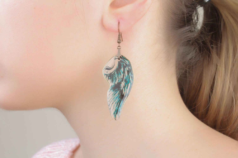 Earrings Wings of Angel photo 4