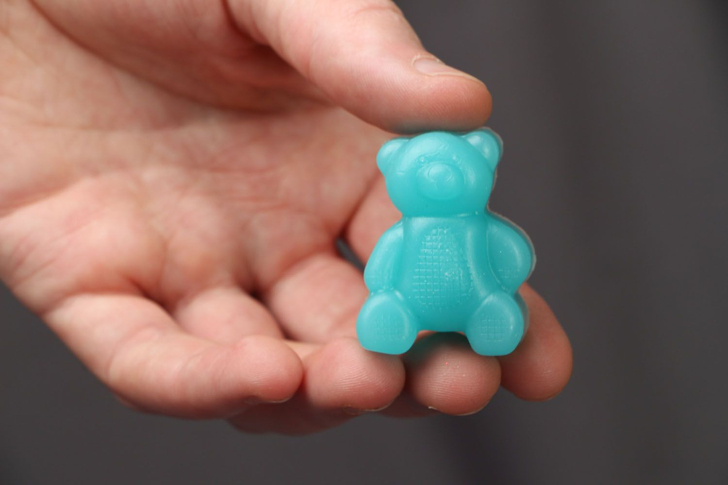 Gift soap in the shape of bear photo 3