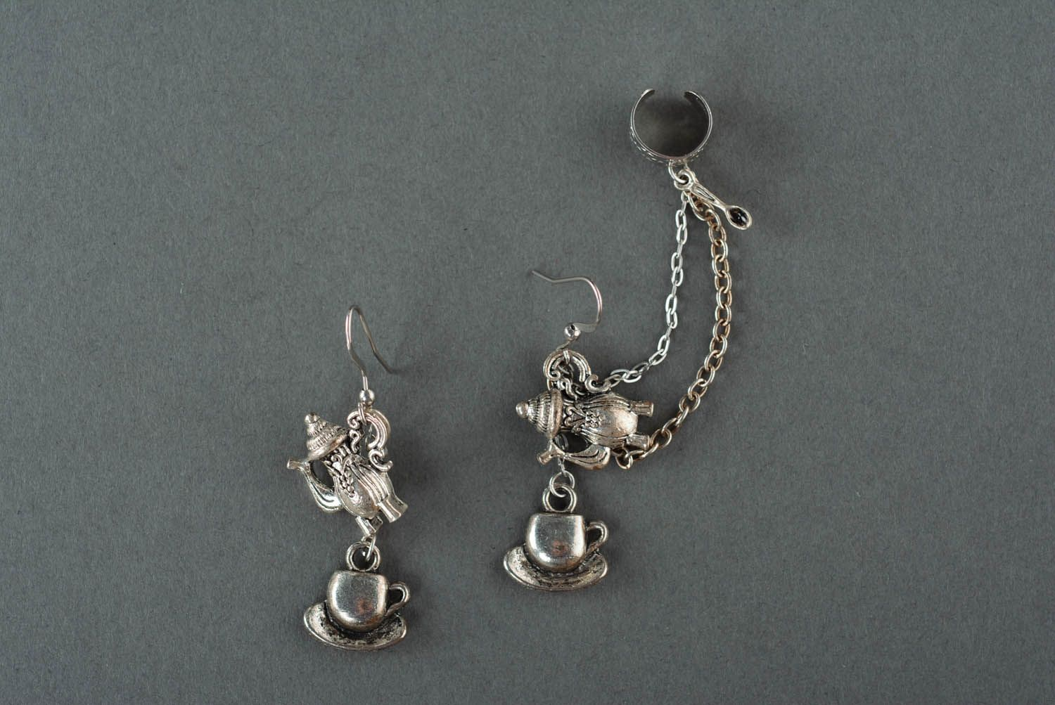 Hypoallergenic earrings Tea Ceremony photo 2