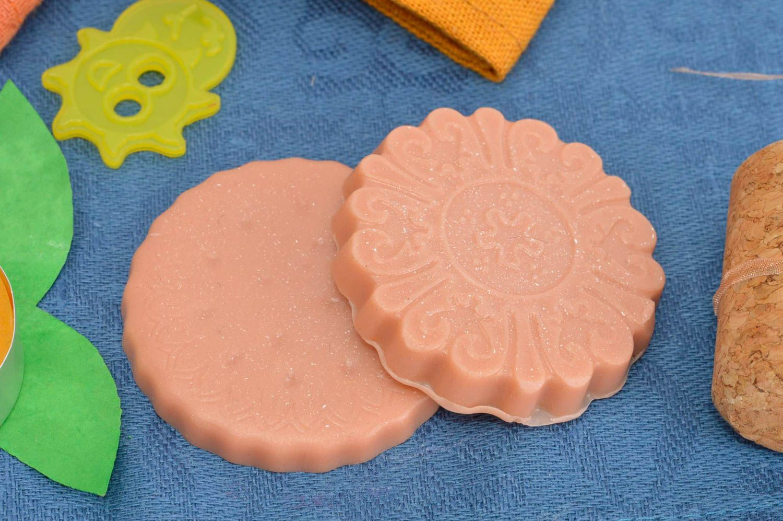 Handmade soap present for women bath decor natural soap natural cosmetics photo 1