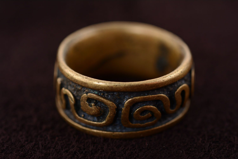 Bronze ring Fantasy photo 5