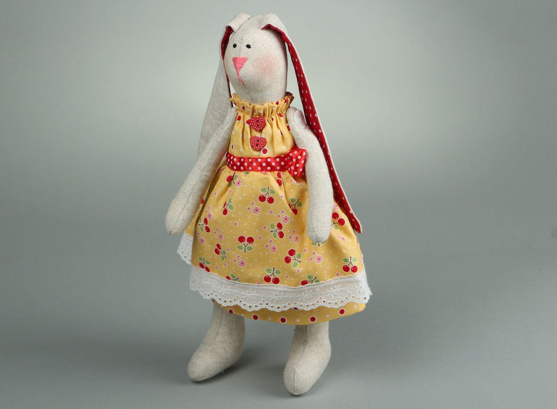 Rabbit doll hand work photo 2
