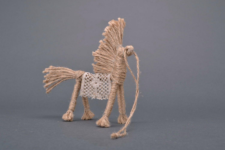 Slavic amulet Sun horse photo 2