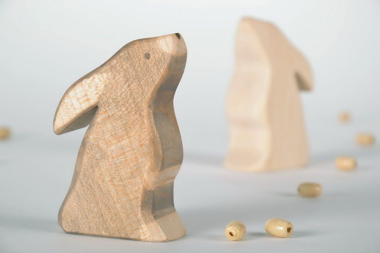 Madeheart jouet artisanal lapin en bois fait main for Fumoir artisanal en bois