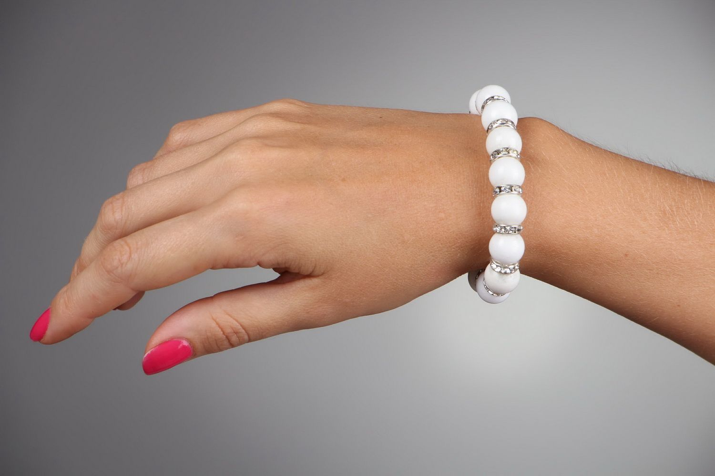 Bracelet with elastic band photo 5