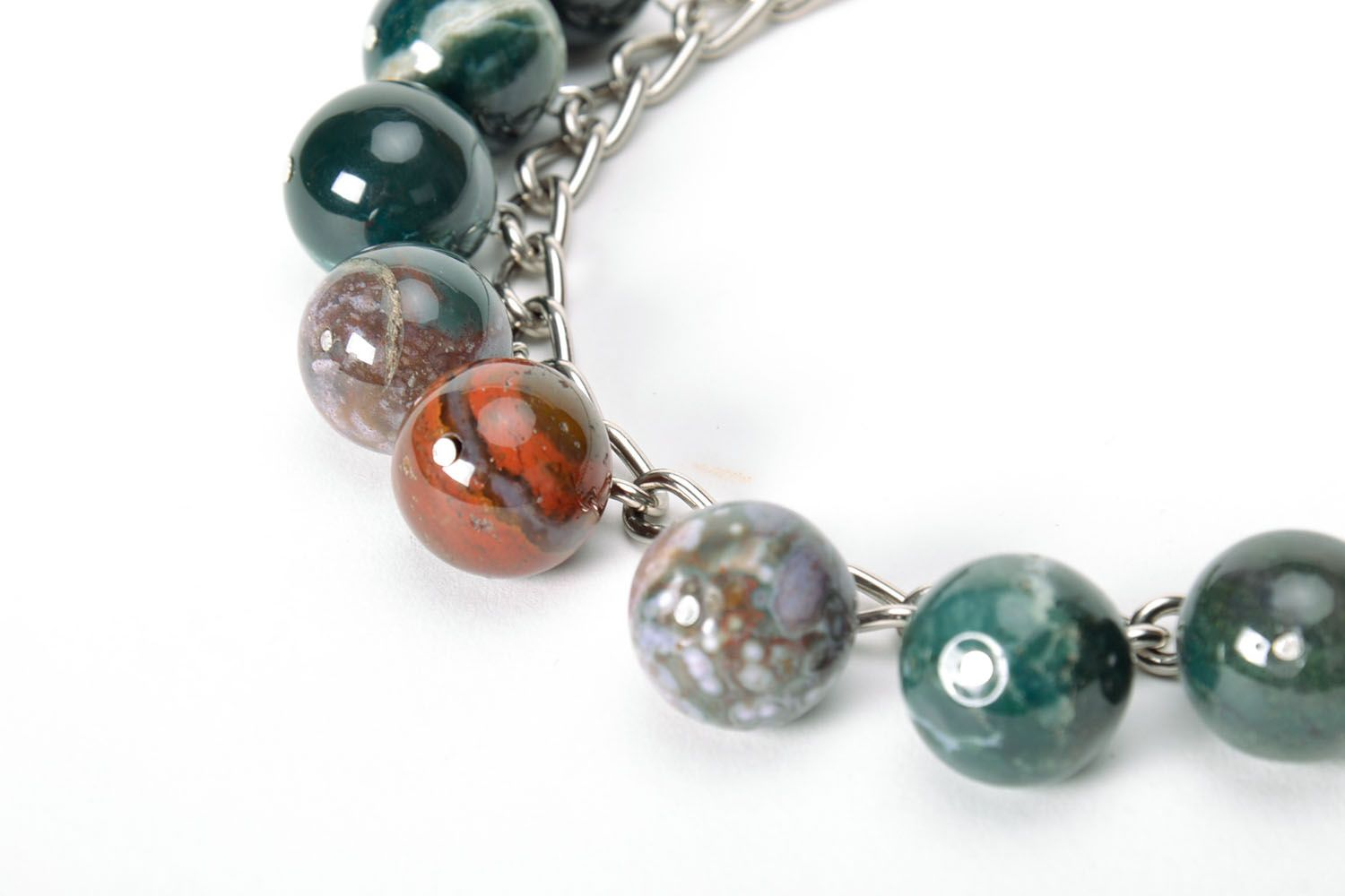 Jasper necklace  photo 4
